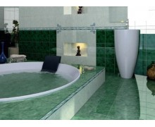Плитка Дворцовая зеленый Нефрит Керамика