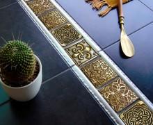 Плитка Kavarti вставки латунные Kavarti (Испания-Россия)