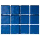 1243T Бриз синий, полотно 30х40 из 12 частей 9,9x9,9