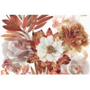 Aure Savage Composicion Flowers Marron 01