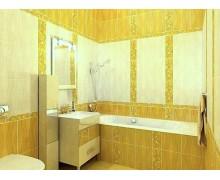 Плитка Апрель жёлтый Харьковский плиточный завод Golden Tile (Украина)