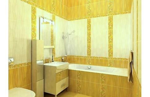Плитка Апрель жёлтый Golden Tile (Украина)