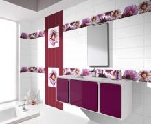 Плитка Aure Flowers Absolut Keramika (Испания)