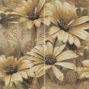 Busani Beige Kwiaty Панно (из 2х пл) 60x60