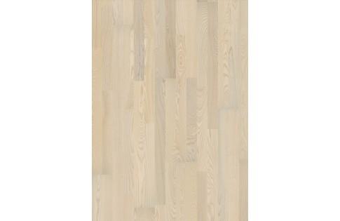 Ясень Natur Vanilla Matt 3S Polar 3-полосная
