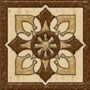 Фрилайт Бавария (коричневый) Вставка 6х6