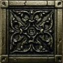 Kavarti - Byzantium металлическая плитка 50х50мм /52