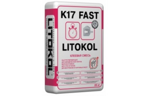 Цементая клеевая смесь Litokol K17 25kg