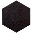 Hexatile Venice Negro