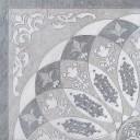 HGD/B37/TU0031L Декор Монтаньоне серый лаппатированный 1/4 розона