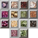 Decor Mix 14 pz Cube Gold Kitchen