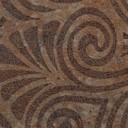 Вставка Тоццето Загара Сардиния коричневая