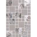 180/8266 Декор Александрия серый мозаичный