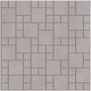 SG185/002 Декор Александрия серый мозаичный