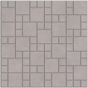SG1852 Декор Александрия серый мозаичный