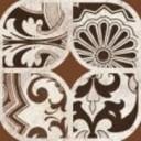Бордюр Майорка 3 коричневый 9,8х9,8