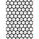 Плитка настенная Помпеи 7 тип 1 белый 27,5х40