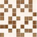 Stripes Мозаика т.бежевый+бежевый 30х30