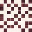 Stripes Мозаика бордо-бежевый