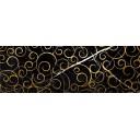 Миланезе дизайн Декор Флорал неро 1664-0148 20х60