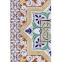 Плитка настенная Андалусия многоцветный низ 04 20х30