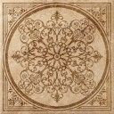 Декор напольный НЛ-Стоун Айвори Вставка Блум (610080000145)