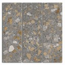 SG184/001 Декор Терраццо коричневый мозаичный 14,7х14,7х11