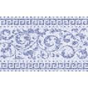 Плитка настенная Бильбао голубой (00-00-1-09-00-61-1026) 25х40