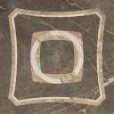 Вставка интарсио Портофино серый лаппатир. 45х45
