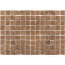 Плитка настенная Бирма 3Т тип 1 коричневый мозаика 27,5х40