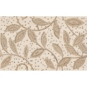 Плитка настенная Travertine mosaic коричневый декор 25х40