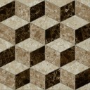 Скольера Керамогранит коричневый геометрия 6046-0350 45х45