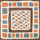 Декор Africa №2 микс 18.6х18,6