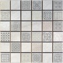 Мозаика декоративная Атриум серый 20х20