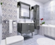 Плитка Атриум серый Беллеза/Belleza-Нефрит (Россия)