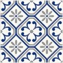 Сиди-Бу-Саид серый (04-01-1-14-03-65-1000-1) 20х20 декор