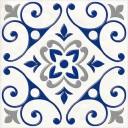 Сиди-Бу-Саид серый (04-01-1-14-03-65-1000-2) 20х20 декор