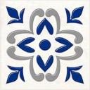 Декор Сиди-Бу-Саид синий (04-01-1-02-03-65-1001-1) 9,9х9,9