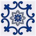 Декор Сиди-Бу-Саид синий (04-01-1-02-03-65-1001-3) 9,9х9,9