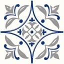Плитка напольная Сиди-Бу-Саид синий (01-10-1-15-00-65-1000) 20х20