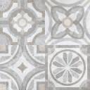 Керамогранит Портланд-Р 1Д серый декор 60х60