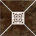 Риальто 3Т тип 1 Плитка настенная коричневая 20х20