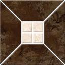 Риальто 3Т тип 2 Плитка настенная коричневая 20х20
