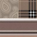 Плитка Cenefa Paisley Marron 45×45