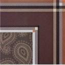 Плитка Angulo Paisley Marron 45×45