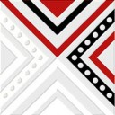 Декор Румба красный (04-01-1-02-03-45-00-1006-2) 9,9х9,9