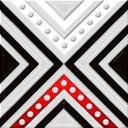 Декор Румба черный (04-01-1-02-03-04-1006-3) 9,9х9,9