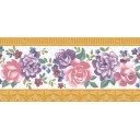 Бордюр Воспоминание розовый (05-01-1-93-03-41-886-0) 11,5х25