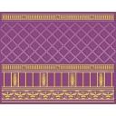Бордюр Воспоминание фиолетовый (05-01-1-93-03-56-886-0) 20х25