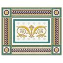 Бордюр Золотой бирюзовый (05-01-1-93-03-71-909-0) 20х25
